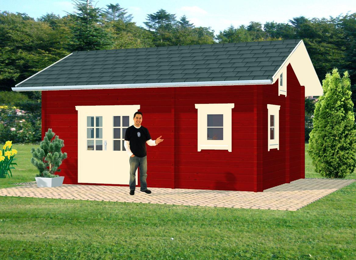 ferienhaus annukka im blockhaus stil dr jeschke holzbau. Black Bedroom Furniture Sets. Home Design Ideas