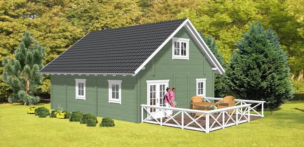 ferienhaus ilta dr jeschke holzbau. Black Bedroom Furniture Sets. Home Design Ideas
