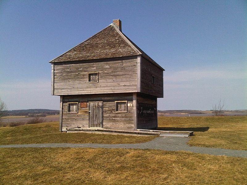"blockhouse ""Fort Edwards"""