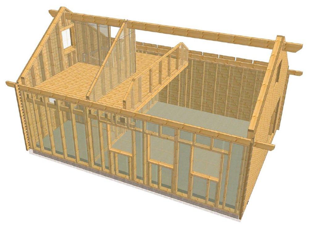 Holzrahmenbau details fenster  Ein neues Holzhaus entsteht in Ostfriesland Dr. Jeschke