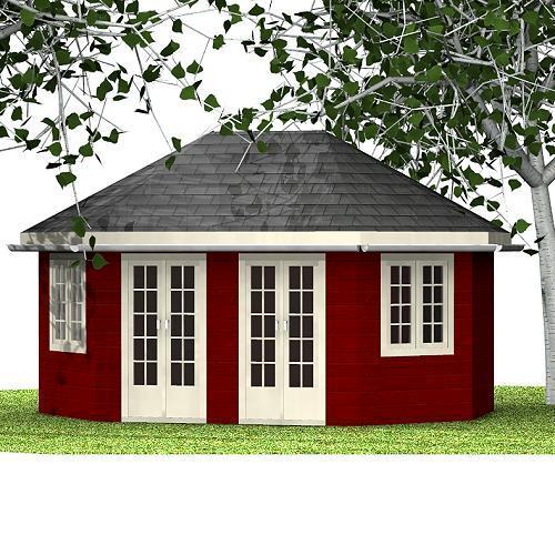 Holzpavillon Marian Holzpavillon
