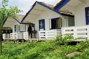 Unsere Blockhäuser in Afrika