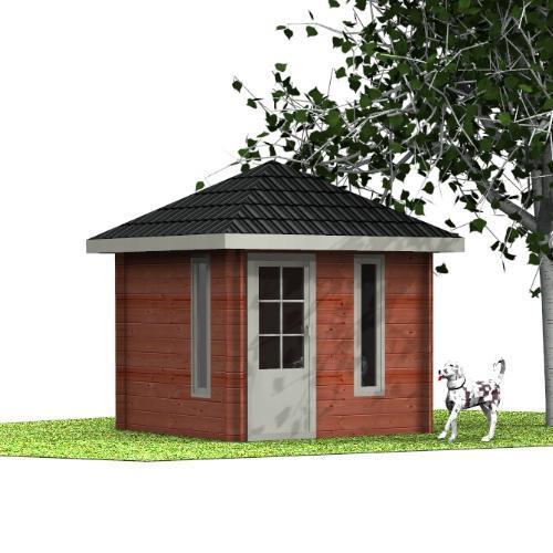 Gartenhaus Kaino Design-Gartenhaus