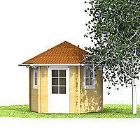 Holzpavillon Kauno Holzpavillon