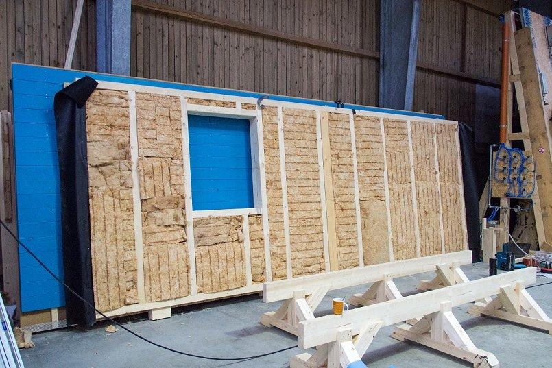 Wandaufbau holzrahmenbau mit klinker  Ratgeber für den Holzständerbau Dr. Jeschke