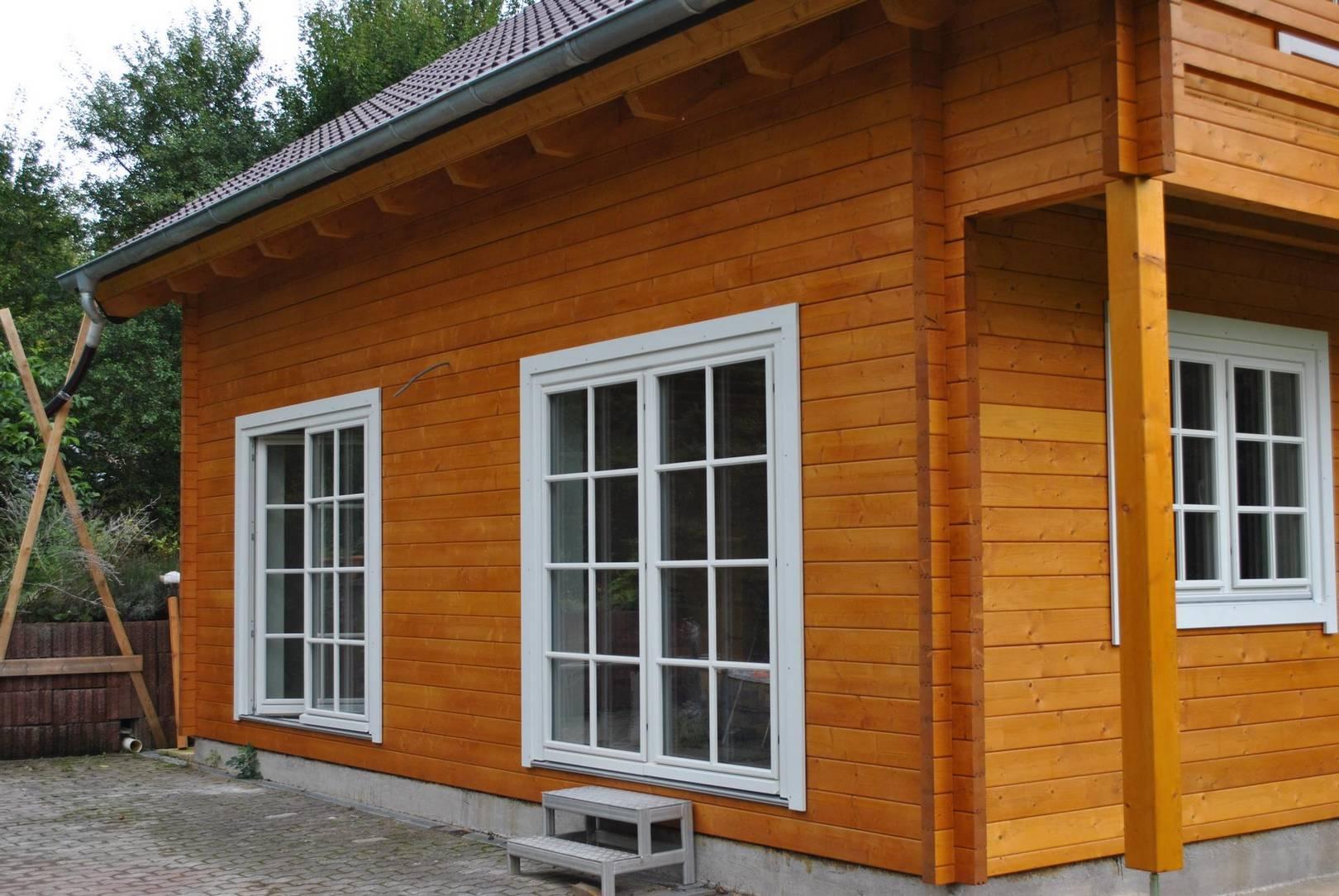 Holzhaus mikael holzrahmenbau for Modernes holzhaus bauen