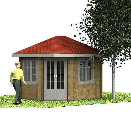 Gartenhaus Emmi 5-Eck-Gartenhaus