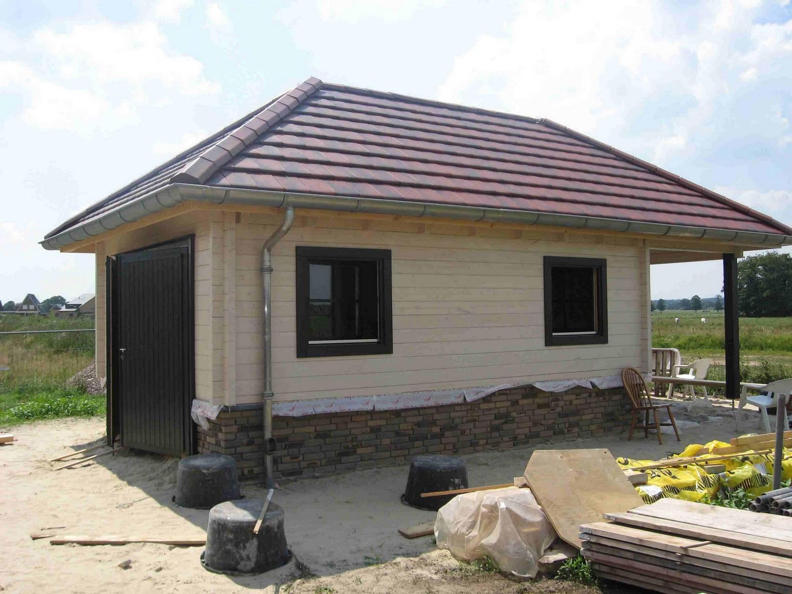 Garage modern holz  Holzgarage nach Maß - Holzgaragen nach Maß