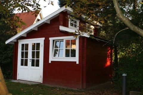 Gartenhaus Martii – Blockhaus Design-Gartenhaus