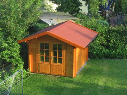 Gartenhaus Pälvi Gartenhaus Satteldach