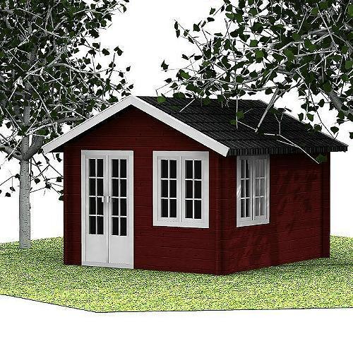 Gartenhaus Heli Design-Gartenhaus