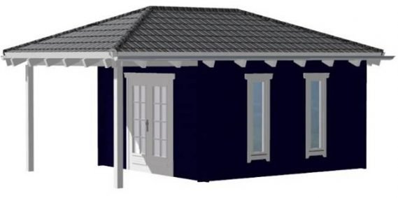 Gartenhaus Jette