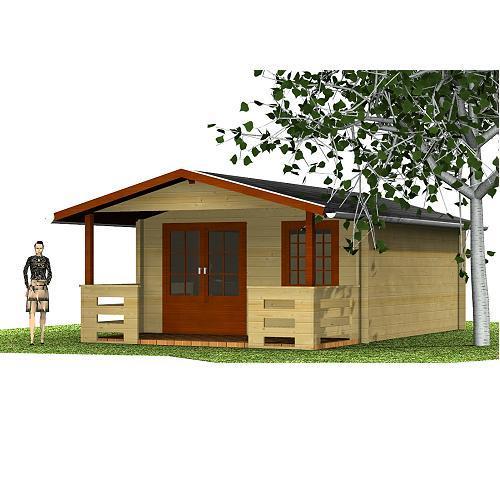 Gartenhaus Aini Gartenhaus Satteldach