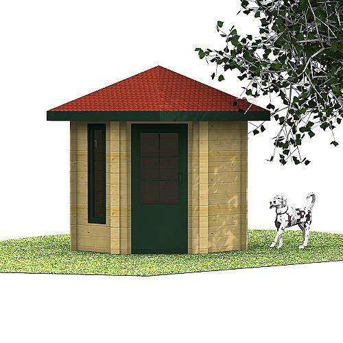 Gartenhaus Laila 5-Eck-Gartenhaus
