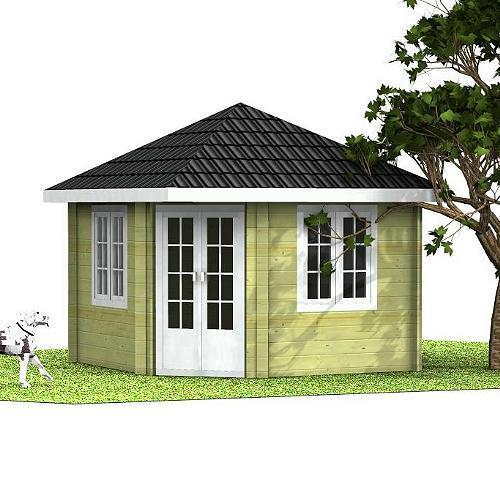 Gartenhaus Marjatta 5-Eck-Gartenhaus