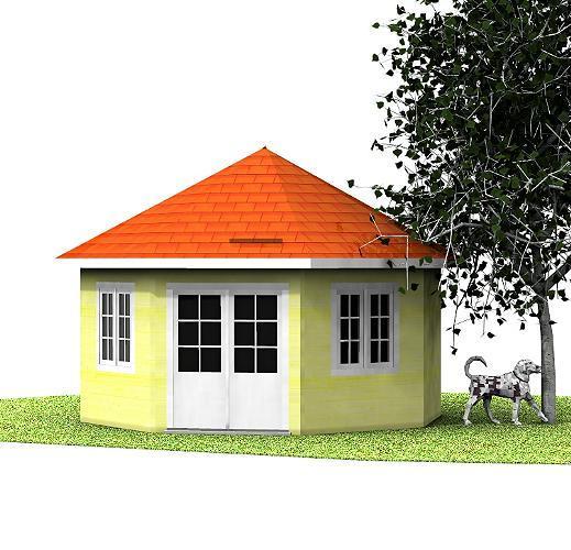 Holzpavillon Noora Holzpavillon