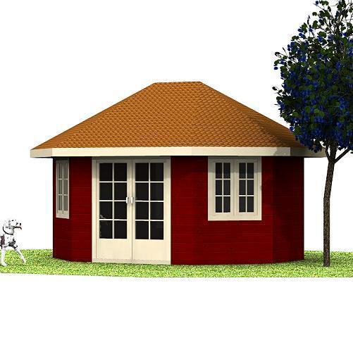 Holzpavillon Roni Holzpavillon