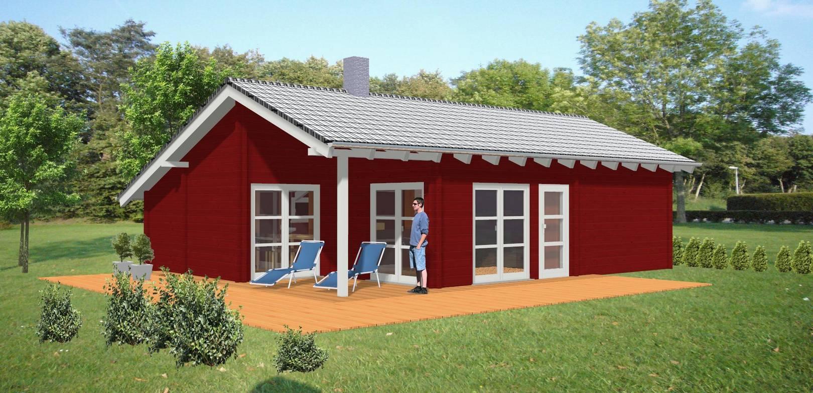 Ferienhaus Sabrina im Blockhaus Stil - Dr. Jeschke Holzbau