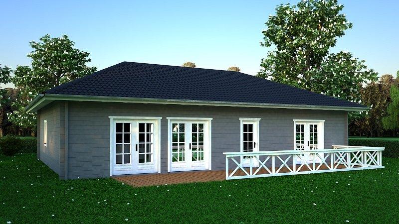 der seniorenbungalow das ebenerdige minihaus wdt. Black Bedroom Furniture Sets. Home Design Ideas