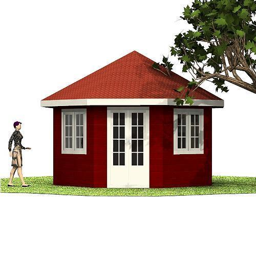 Holzpavillon Tomi Holzpavillon