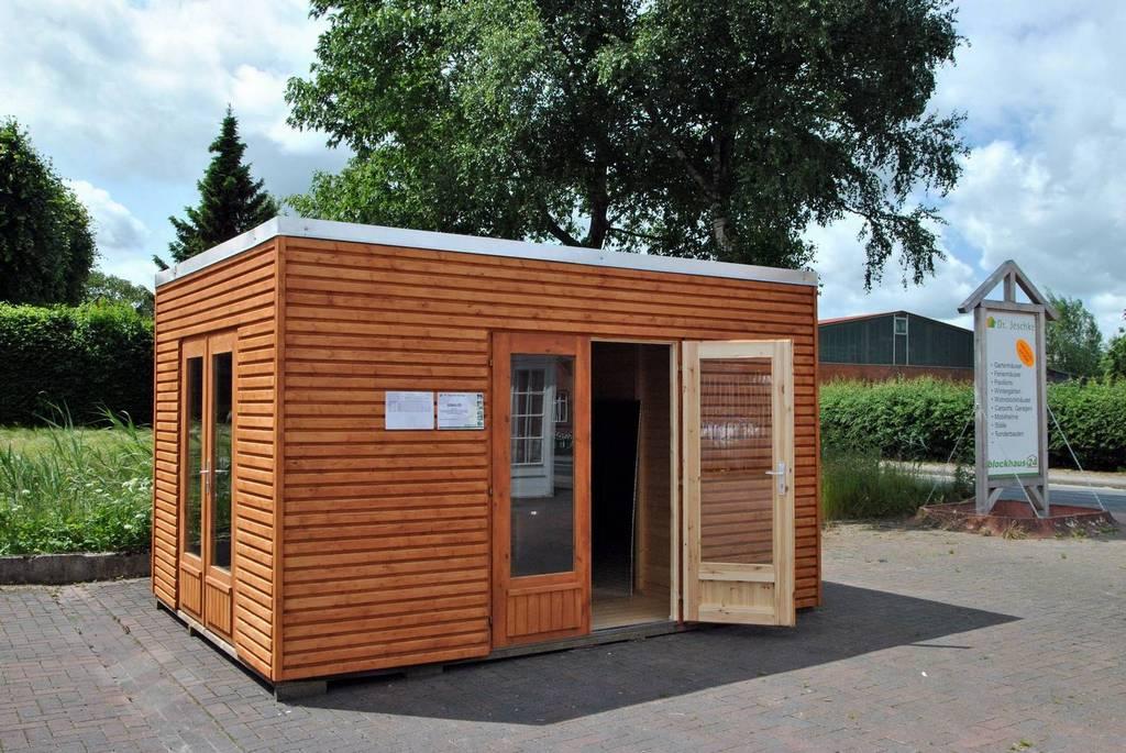 Design gartenhaus kubus vielfalt im quadrat - Gartenhaus design ...
