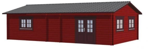 Gartenhaus Aalborg Maxi