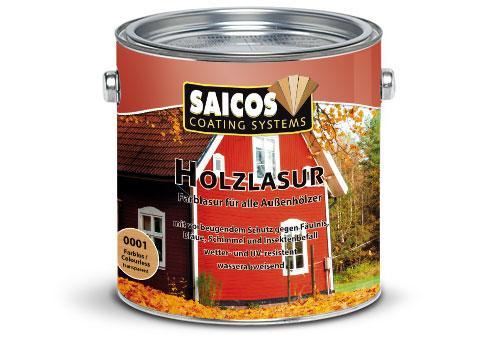 Holzschutzlasur für Außen, 2.5 Liter Holzschutzfarben