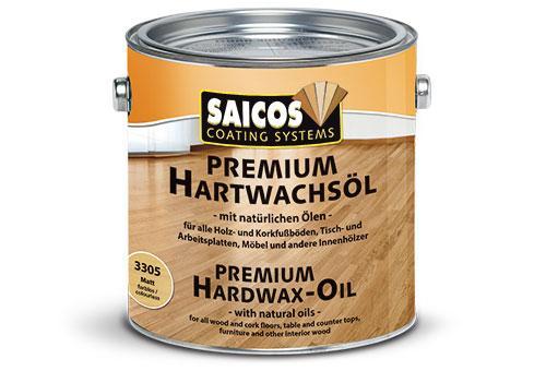Holzwachs, Hartwachsöl für Fussböden, 2,5 Liter Holzschutzfarben